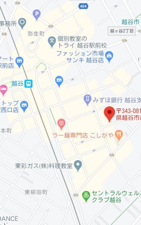 マップ|世界にひとつだけの花(ピンサロ/越谷)