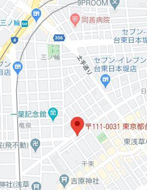 マップ|多恋人倶楽部(ソープランド/吉原)