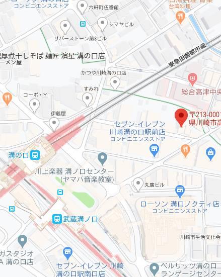 マップ 卍乙(セクキャバ/溝の口)