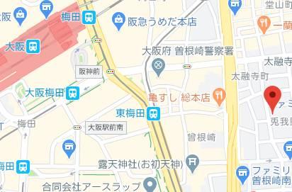マップ|コスパラ(梅田)(受付型オナクラ/梅田)
