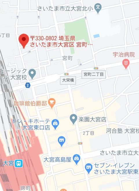 マップ|れもん(ソープランド/大宮)