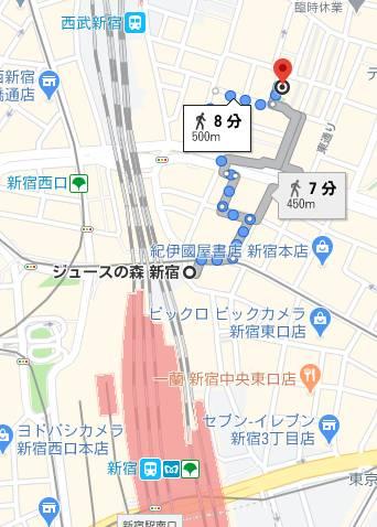 マップ|新宿本店 ぽちゃカワ女子専門店(ぽっちゃり専門ホテヘル&デリヘル/新宿歌舞伎町発・近郊)