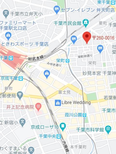 マップ|club Ego(ソープランド/千葉栄町)