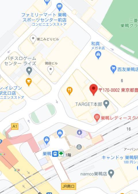 マップ|曙 -Akebono-(ピンサロ/巣鴨)
