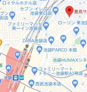 マップ|ELEGANCE(池袋)(派遣型SM倶楽部/池袋発・近郊)