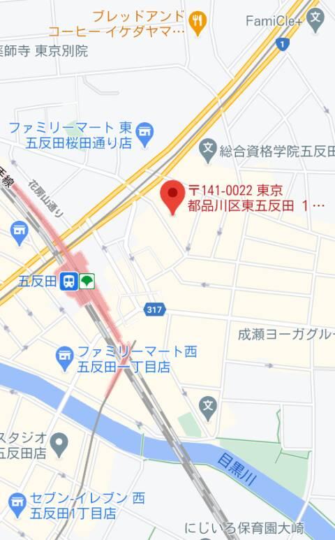 マップ|ハーレムビート(ピンサロ/五反田)