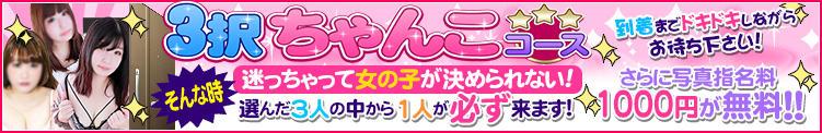 3択ちゃんこ!大好評!! ぽっちゃり巨乳専門店 町田相模原ちゃんこ(町田/デリヘル)